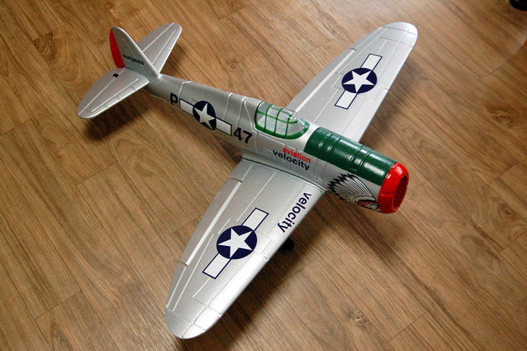 P-47_Thunder_Fighter_ARF_Avion_KIT_komplet
